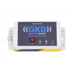 Station de vérification du bon fonctionnement des badges piétons RFID